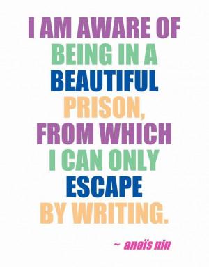 Sometimes it really does feel like prison.