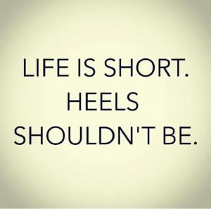 The higher the heel