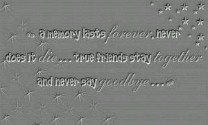 Friends Saying Goodbye Quotes