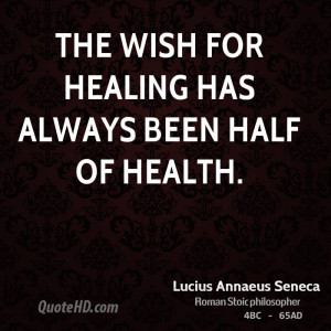 Quotes About Health Healing Lucius-annaeus-seneca-health- ...