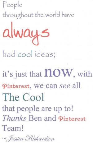 Uploaded to Pinterest