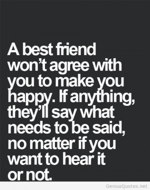 Black and White Best Friend Quotes