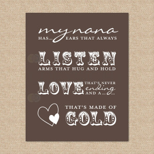 Nana Quotes and Sayings http://www.etsy.com/listing/94838368/nana ...