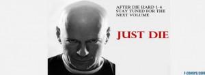 funny movies die hard bruce willis facebook cover