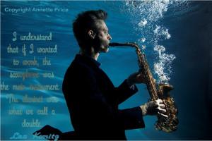 Saxophone quote