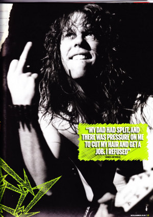 James Hetfield Quotes