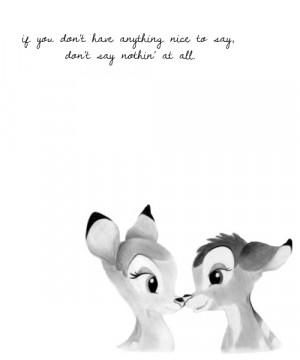 Bambi Quotes Bambi Quotes
