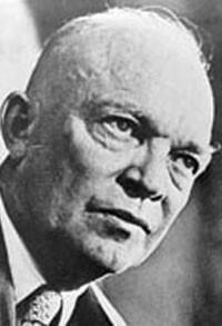 Ike runs the country, and I turn the pork chops.