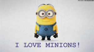 Tags : Despicable Me Wallpaper HD I Love Minions Wallpapers Cool HD