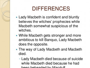 compare and contrast macbeth macduff and banquo essay Macduff and banquo were the ones who seen through this crazy plot woven by macbeth banquo who first suspected macbeth was compare and contrast macbeth, macduff.