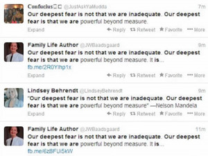Nelson Mandela quote being shared on social media never said by South ...