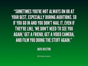 Jack Huston Quotes