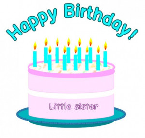 happy birthday little sister funny quotes
