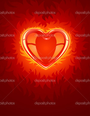 Burning Lovely Heart