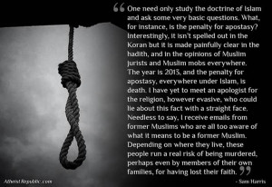 Sam Harris: One Need Only Study the Doctrine of Islam