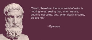 Epicurus quote by Philiposophy