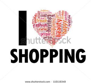 love shopping i love shopping i love shopping i love shopping vector