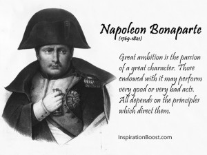 Napoleon Bonaparte Direct Quotes