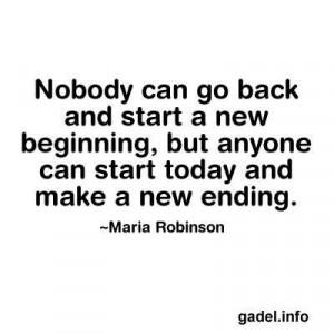 beginnings and endings.