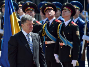 English-language translation of Poroshenko's message to Ukraine ending ...