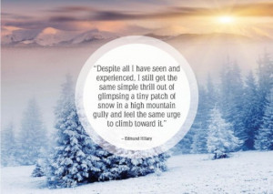 25 Nice Quotes About winter and snow 019