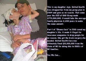 Think those who oppose Obamacare so vehemently still would if this was ...