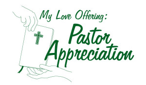 Pastor Appreciation Offering Envelopes