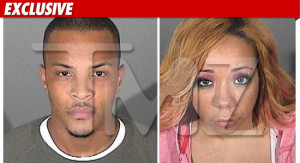 TMZ has obtained the mug shots taken by T.I. and his wife Tameka