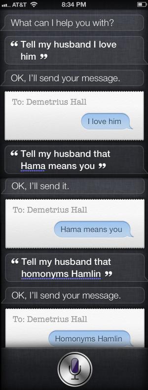 Siri Funny