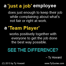 Ty Howard Quote on Teamwork, Team Building, Team Player Quotes