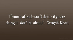 31 Relevant Genghis Khan Quotes