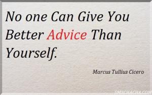 Best Advice Quote