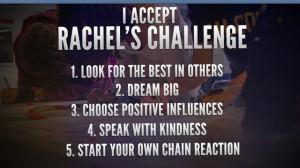 Rachel Joy Scott Quotes Chain Reaction Rachel's challenge rachel joy ...