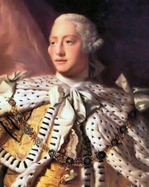 King George III of England