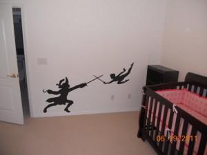 Peter pan, Nursery decor, quote, Captain hook, Wendy, John, Michael ...