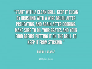 how to keep grill clean