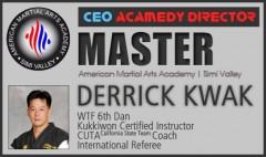 Master Master Derrick Kwak