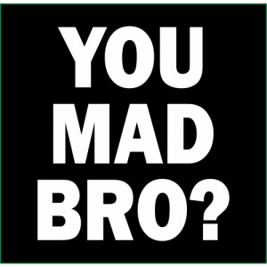 you mad bro jersey shore pauly d guido video game funny graphic tee t ...