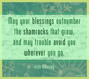 Irish Prayer For Strength Irish blessings