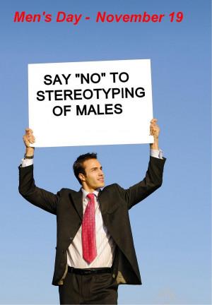 Thread: International Men's Day pictures