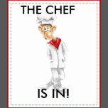 cartoon of chef with funny sayings funny sayings with a cartoon chef ...