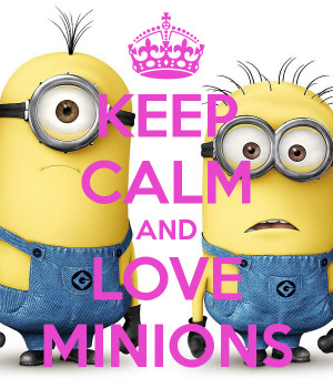Related Pictures keep calm minions quote keep calm minions quote
