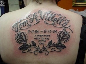 If you are looking to update your look, this Memorial Tattoo Quotes ...