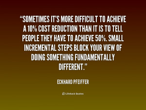 Quotes by Eckhard Pfeiffer