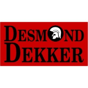 PVC sticker 'Desmond Dekker - angular'