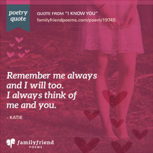 When I First Met You - A Love Poem For Him
