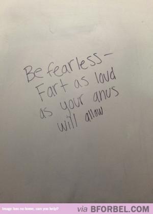 No Fear…