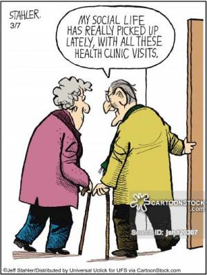Senior Citizens cartoons, Senior Citizens cartoon, funny, Senior ...
