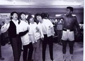 Beatles Muhammad Ali Image