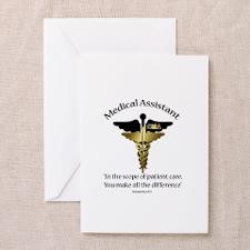 Medical Assistant Greeting Card CD for